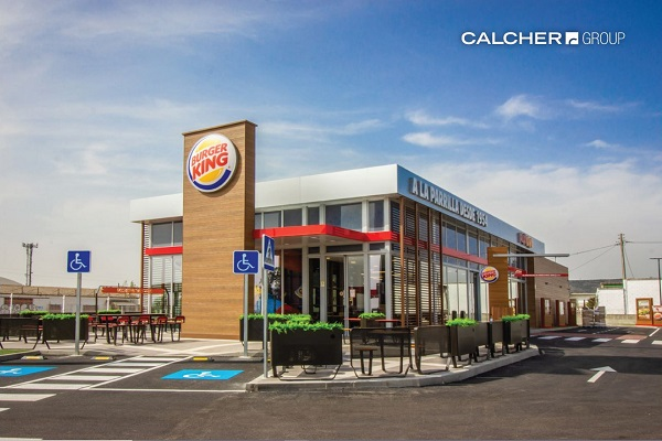 Exterior Burger King a Brunete