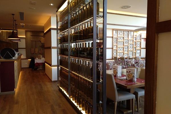 Interior restaurante La Tagliatella Olaz_Navarra